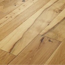 Today's hardwood floors are milled and finished using the most advanced techniques that require much lower maintenance than in years past.